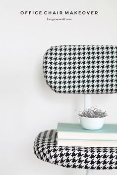 DIY! Turn your office chair from drab to fab.