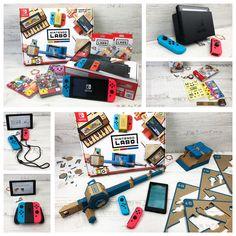 0909cf8adc0 Nintendo Switch   Nintendo Labo  Spielekonsole mit gewissen Extras für  Kinder