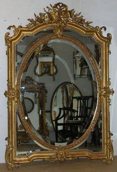 Decorative Antique Mirrors For Bedroom