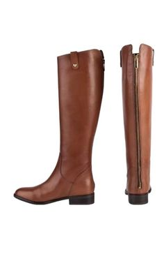 77596a748fe Clarks Ladies LICORICE POP TAN LEATHER KNEE HIGH RIDING BOOTS UK size 8E 42