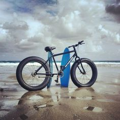 cant wait to ride my fattie ocean side someday #fatbike #bicycle #fat-bike