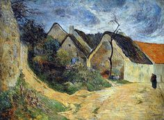 Paul Gauguin - Post Impressionism - Osny, chemin montant - 1883