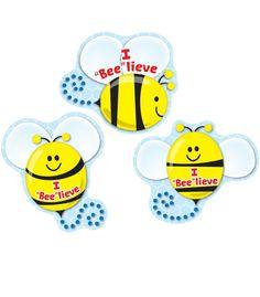 """I """"Bee""""lieve Shape Stickers"""