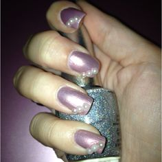 Pearl nail art :) Pearl Nail Art, Pearl Nails, Make Up, Pearls, Beauty, Beads, Makeup, Beauty Makeup, Beauty Illustration