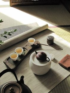 Cha in chinese style tea room