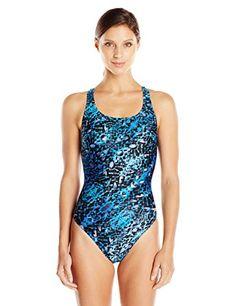 808a0a2f35d Speedo 8191533 Womens Shatter Skin Super Pro (Adult), Blue, 26 Speedo http