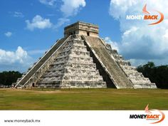 MONEYBACK MEXICO. Chichen Itza is perhaps the largest, most famous and most accessible Mayan site, about 125 kilometers west of Cancun and Cozumel. This ancient Mayan ruin, a major tourist stop in Mexico's Yucatan Peninsula, is a rugged place of soaring pyramids, massive temples, startling carved columns and do-or-die sports fields. Visit one of Mexico's most popular tourist destinations! #moneyback www.moneyback.mx