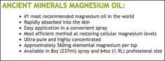 What is the Right Dosage of Magnesium Oil to Use :: The Magnesium Perfection