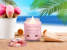 Get in the mood for summer with the irresistible scent of Strawberry Ice Cream #summeriscoming #fantasticfragrance