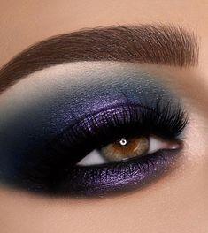 #BestEyeSerum Smokey Eye Makeup Look, Green Smokey Eye, Hazel Eye Makeup, Purple Eye Makeup, Eye Makeup Steps, Hooded Eye Makeup, Eyeshadow Looks, Eyeshadow Makeup, Eyeshadow Palette