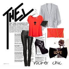 rocker chic, created by perlapaola