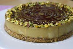 Raw Vegan Pistachio Matcha Cheesecake   Sweetly Raw