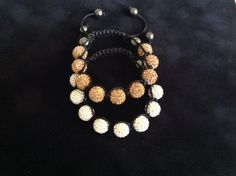 Beadazzlebeads Crystal Shamballa bracelet on Etsy, $40.00