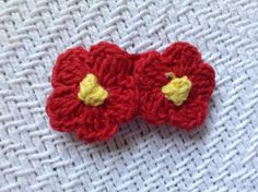 Stage 2(baby)- red and yellow flowers
