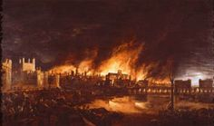 The Great Fire of London Painting. [Das grosse Feuer in London Gemaelde.] Get premium, high resolution news photos at Getty Images Great Plague Of London, Great Fire Of London, The Great Fire, London History, World History, Victor Hugo, Old London, London City, Nostradamus Predictions