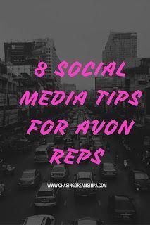 Chasing Dreams in PA: 8 Social Media Tips for Avon Reps