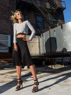 ROOFTOP VENTURES WITH KIM ANNA - New York - Meatpacking  – By Marinke   @sunajnyc #NY #NewYork #Shoot #Photography #Fashion #editorial #2016 #Texture #TexturebySunaj