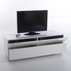 Meuble tv design, pour écran jusqu'à 50 pouces (127 cm), newark La Redoute Interieurs | La Redoute