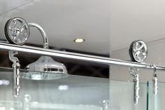 Gerri's shower door system...ordered....from 'Slik'