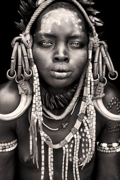 Sons and daughters of Wind' Nomads of Africa photographed by Mario Gerth