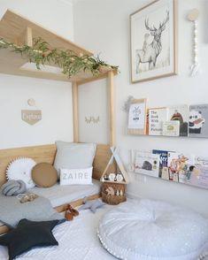Amazing Montessori Bedroom Design For Happy Kids bedroom Bedroom Layouts, Bedroom Themes, Bedroom Decor, Nursery Decor, Kids Bedroom Furniture, Furniture Dolly, Baby Bedroom, Girls Bedroom, Master Bedroom