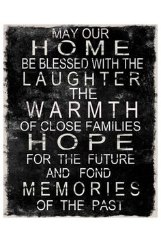 May Our Home . . . Laminate Box Wall Art