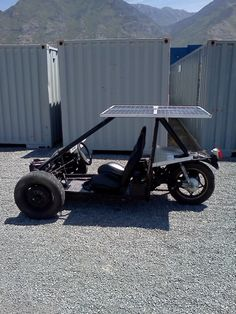 Solar Electric Reverse Trike