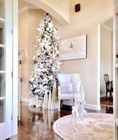 The Most Imaginative Whimsical Bedroom Ideas Christmas Wall Art, Christmas Tree Farm, Farmhouse Christmas Decor, Rustic Christmas, Christmas Home, Christmas Ideas, Christmas Entryway, Christmas Gifts, Xmas