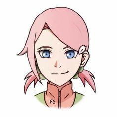 The Daughter of NaruSaku .. dont ship it Naruko Uzumaki, Naruto Y Boruto, Naruto Anime, Narusaku, Naruto Funny, Naruto Girls, Anime Oc, Chica Anime Manga, Sasuhina
