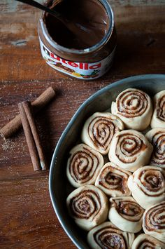 Foodie Friday | Nutella Rolls for Your Saturday... | VB // Art Fashion Foodie Fanatic