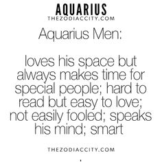 what kind of woman does an aquarius man like