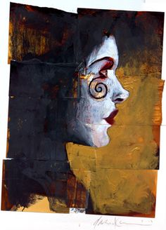 Death by Dave McKean (( freakin out because itfreakin looks like Aradia who was obsessed...with death o.o))