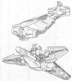 STAR WARS - Imperial Light Cruiser