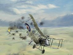 Rudolph Berthold's final dogfight came on August 10, 1918, when he shot down two RAF DH-4 bombers, but collided with the second of these victories and crashed into a house. It should also be ...