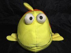 Marsh A Mellows Orange Gold Fish Plush Moshi Micro Bead Commonwealth Spandex  | eBay
