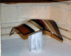 Glass Fusing Tutorial: Floral Former Vase @Christen Glenn Scofield !