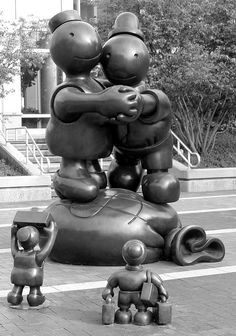 Free Money, Male Tourist and Female Tourist  Tom Otterness    Indianapolis Convention Center     Secrets Information on how to make money online.   There are uncounted ways to get money online.   On the contrary to what most people think   it does not take much effort to make earn online.   For more info please visit us @   budurl.com/zr5w