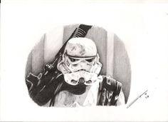 Stormtrooper. Star Wars.