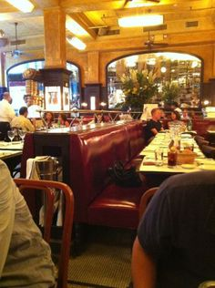 Balthazar Restaurant, SoHo, New York, NY. Where Pat and Axelle have lunch. Inspiration for Model Under Cover: Stolen with Style.  http://www.carinaaxelsson.com #modelundercover #stolenwithstyle
