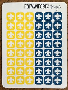 Cub Scout Icon Stickers by FarmWifeBre on Etsy