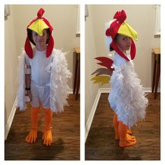 Rooster Costume
