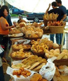 Souk-el-Tayeb farmers' market, Lebanon.