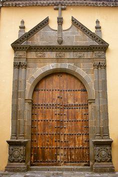 San Cristóbal de La Laguna, tenerife Balearic Islands, Canary Islands, Beautiful Islands, World Heritage Sites, Spirituality, Around The Worlds, Ocean, Memories, Doors