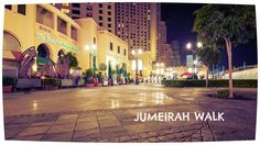 Jumeirah Walk #Dubai #Travel #JBR