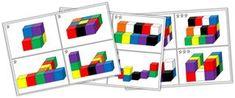 Cycle 1 - Modèles d'assemblage de cubes