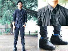 Black Crow (by David Guison) http://lookbook.nu/look/3694111-Black-Crow