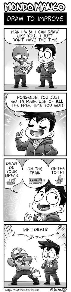 Mondo Mango :: Draw to Improve | Tapas Comics - image 1