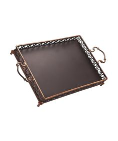Look at this Hanover Copper Gallery Tray on #zulily today!