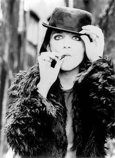 """Brian Molko. """"I believe very strongly that when it comes to desire, when it comes to attraction, that things are never black and white, things are very much shades of grey."""""""