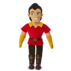 Always trying to win Belle's heart, Beauty And The Beast's Gaston is dressed to impress. This soft toy features him in his classic uniform of a red tunic, leggings and leather-look boots.